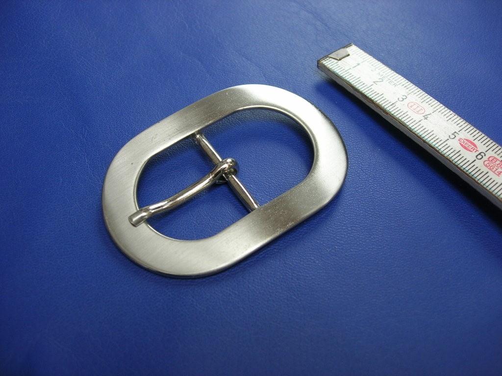 Doppelschnallen 3,0 cm satiniert (E19K194)