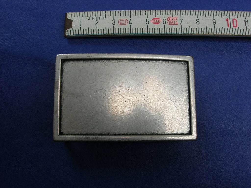 Koppelschnallen 4,0 cm altsilber (E19K198)