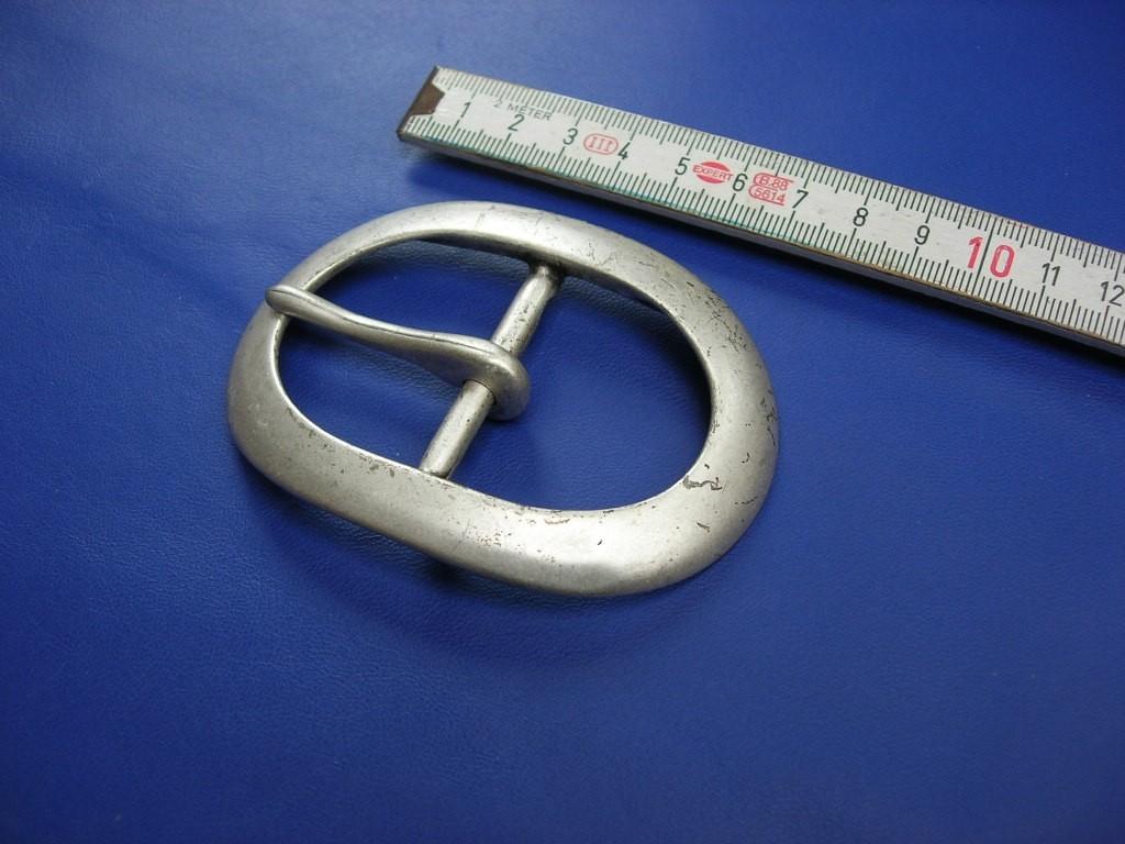 Doppelschnallen 4,0 cm altsilber (E19K264)