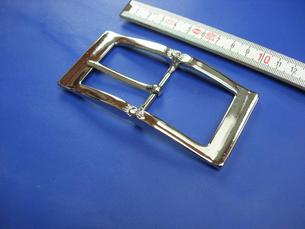Doppelschnallen 4,0 cm mit Strass (E19K254)