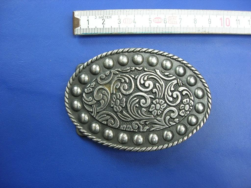 Koppelschnallen 4,0 cm altsilber poliert (E19K250)