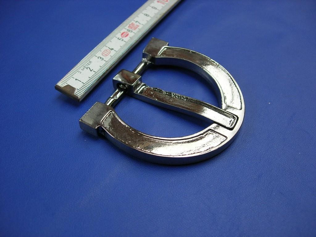 Halbschnallen 4,0 cm schwarznickel (E19K247)
