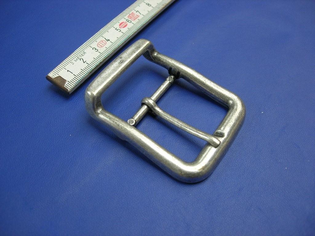 Doppelschnalle 4,0 cm altsilber (E19K244)