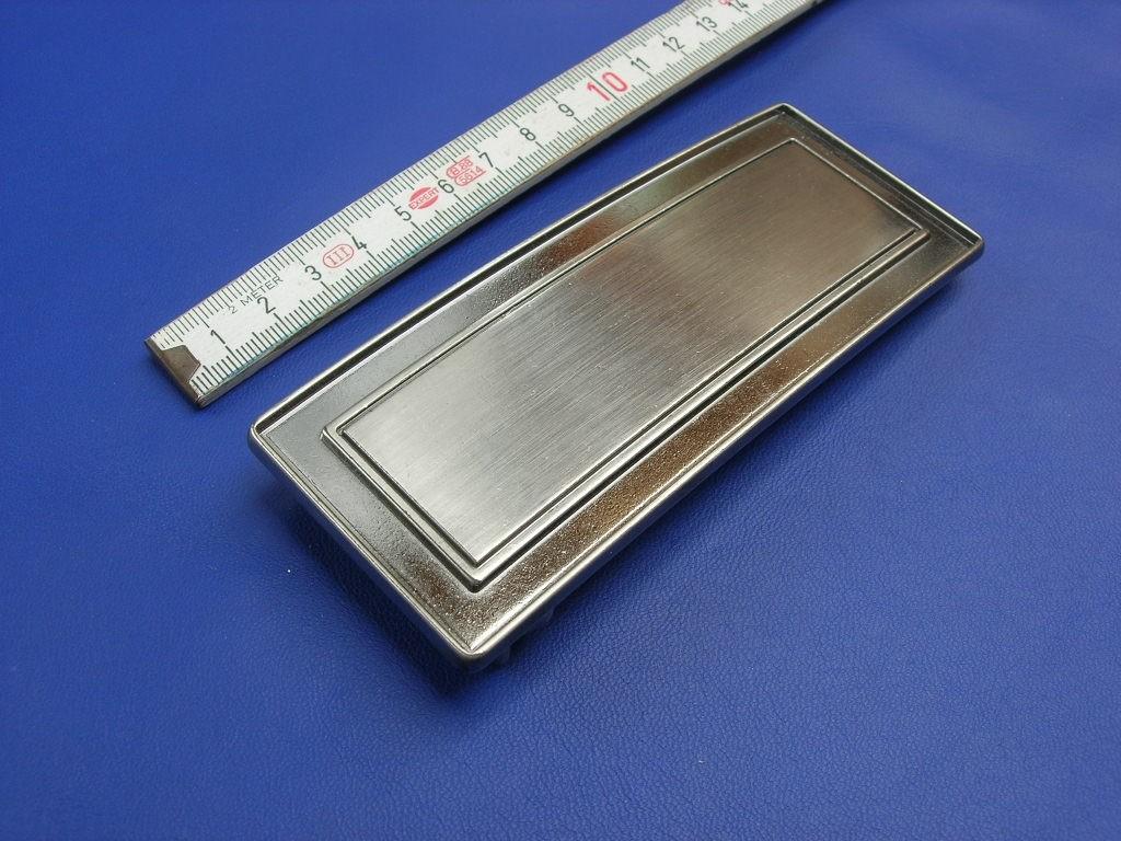 Koppelschnallen 4,0 cm schwarznickel (E19K265)
