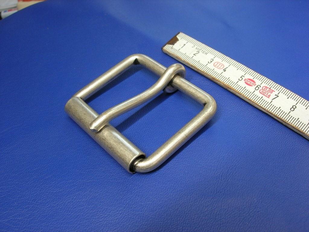 Rollschnallen 5,0 cm altsilber (E19K282)