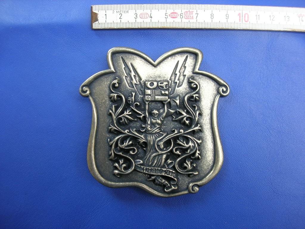 Koppelschnallen 4,0 cm altnickel (E19K274)