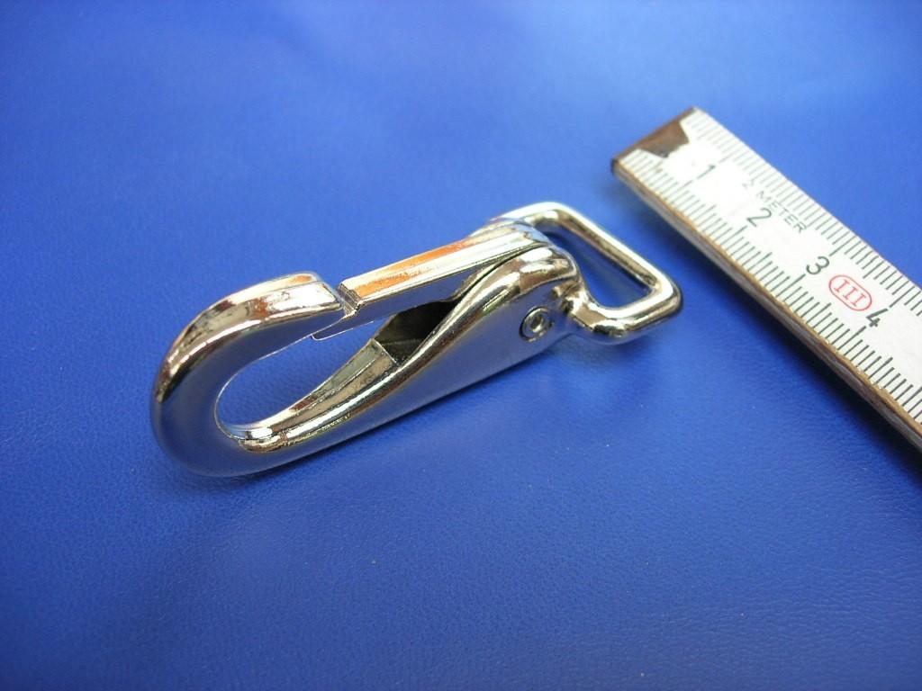 Starrkarabiner 2,0 cm (3725 Z3/4NI)
