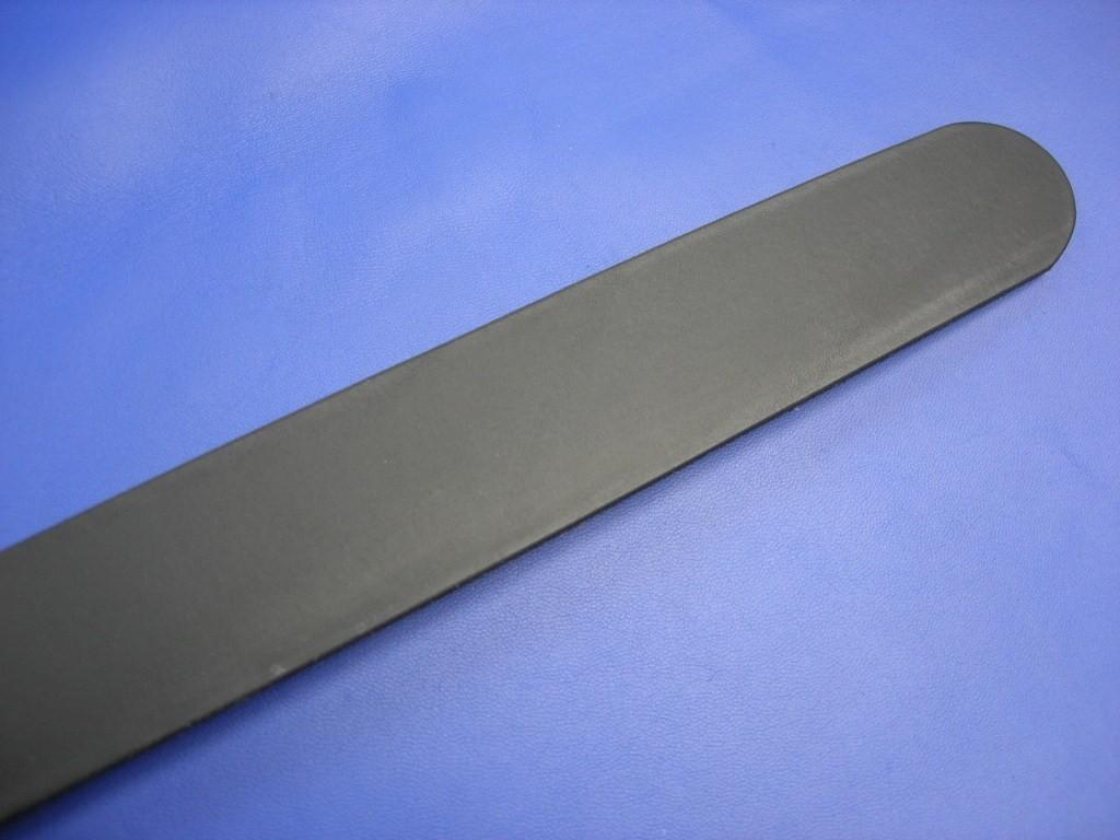 Vollrindgürtelstreifen schwarz matt fest (GÜ13)