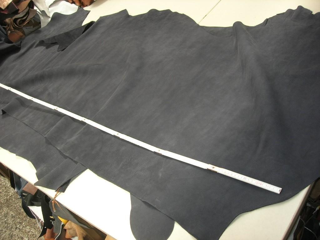 Rindnubuk dunkelblau 2,2 mm (T1813KBL) weich.
