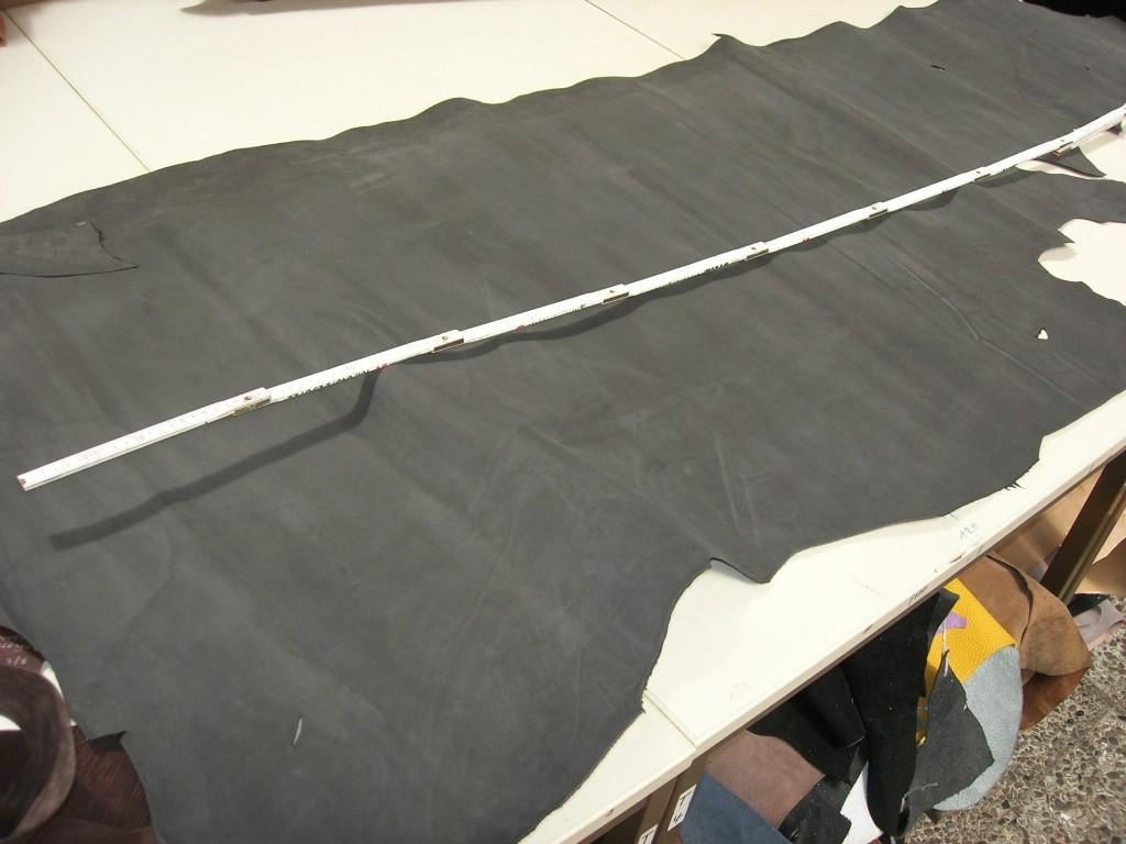 Kalbnubuk dunkelgrau 1,1 mm standig (OR189KG)