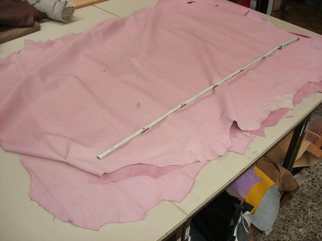 Schweinsfutterleder rosa 0,6 mm (E1810SR)