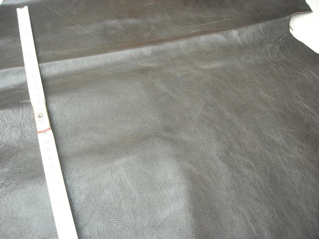 Ziegennappa schlamm-braun (O1713KDB) 0,9 mm anilin gewachst