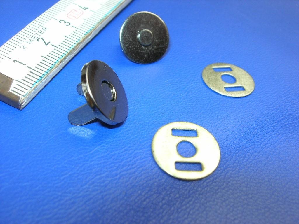 Magnetverschluss gun - bronziert klein (MVKGUN) 1,4 cm