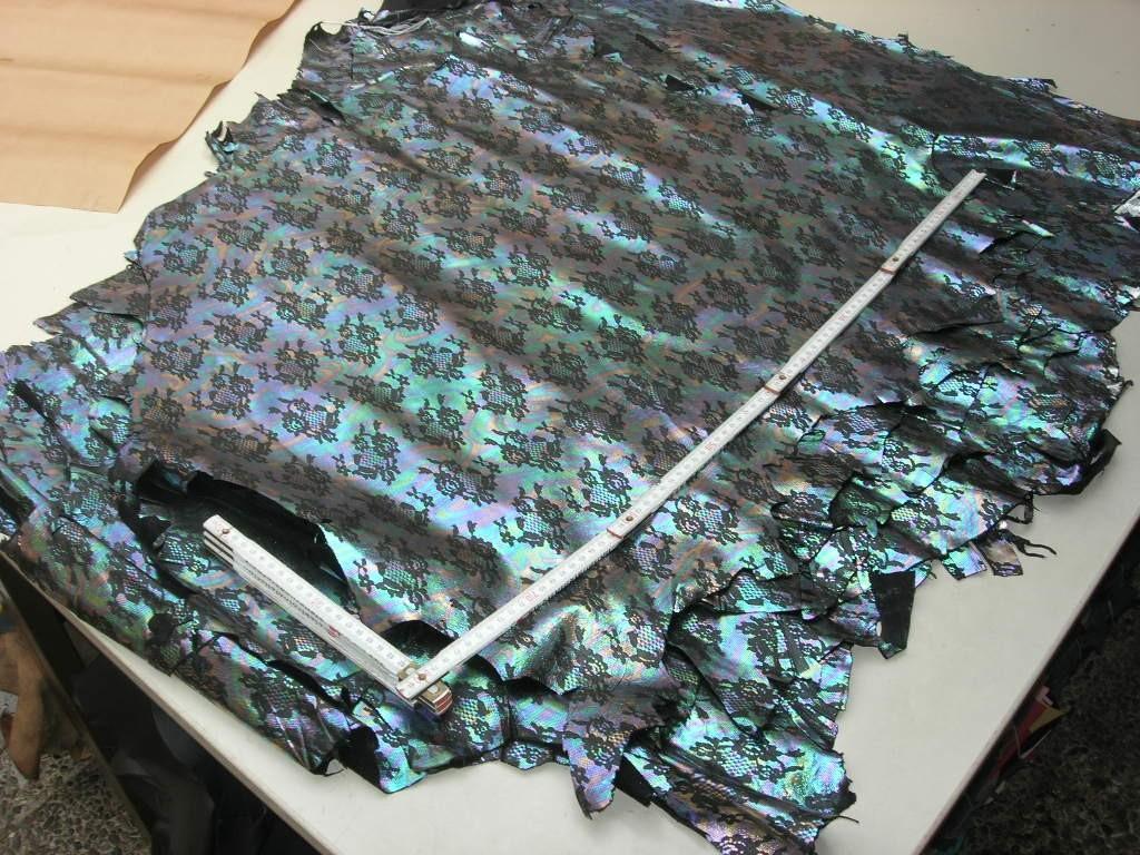 Ziegenleder metallic bunt 0,6-0,7 mm (EI1215KME)