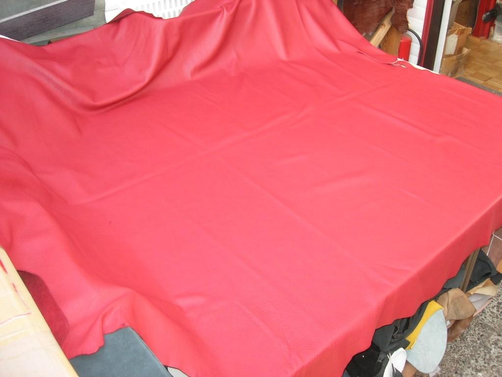 Möbelleder rot anilin 1,5 mm Millkorn (F192350R)