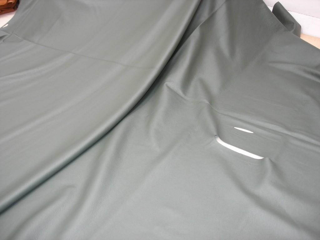 Möbelleder dunkelgrün 1,1 mm gedeckt (F1814G19)
