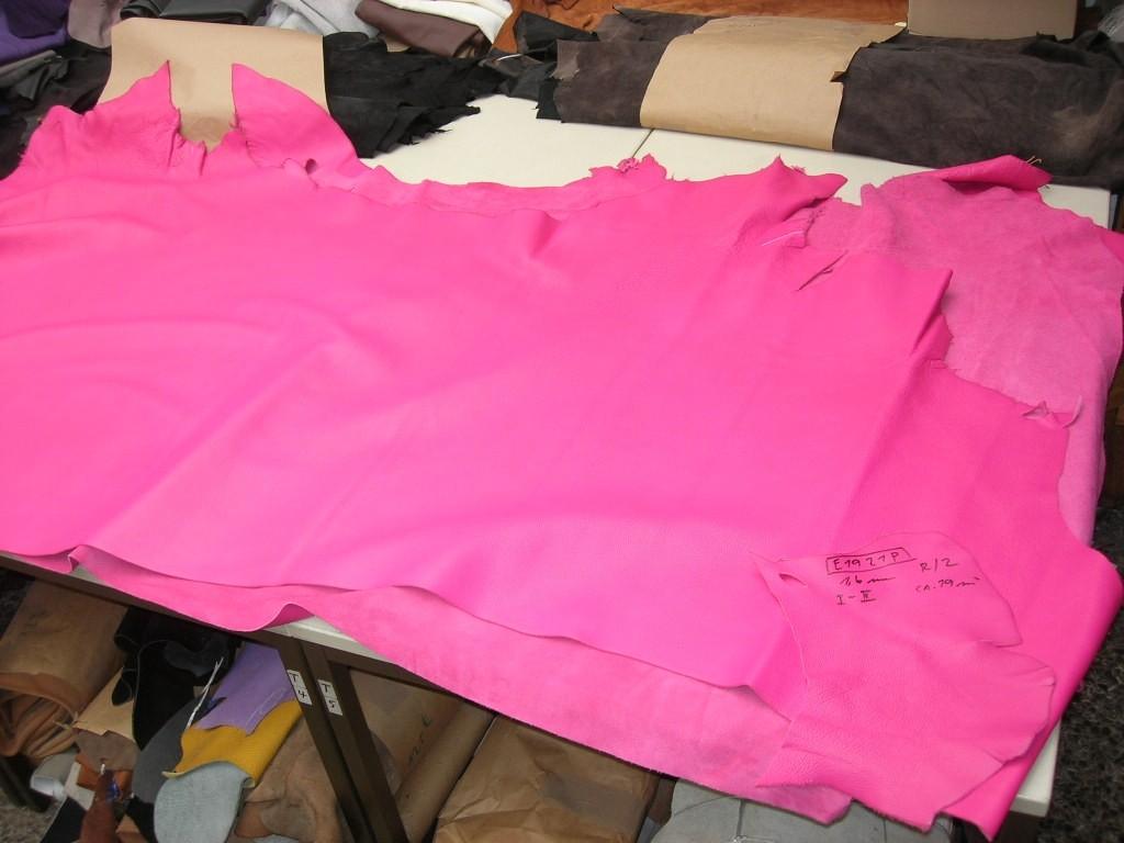 Rindlederhälften pink 1,6mm (E1921P)