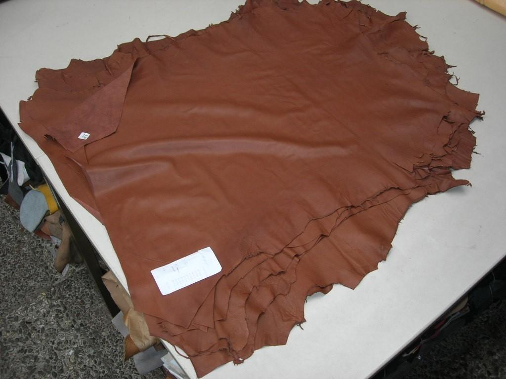 Lammnappa mittelbraun 0,5mm anilin (A19175LN1)