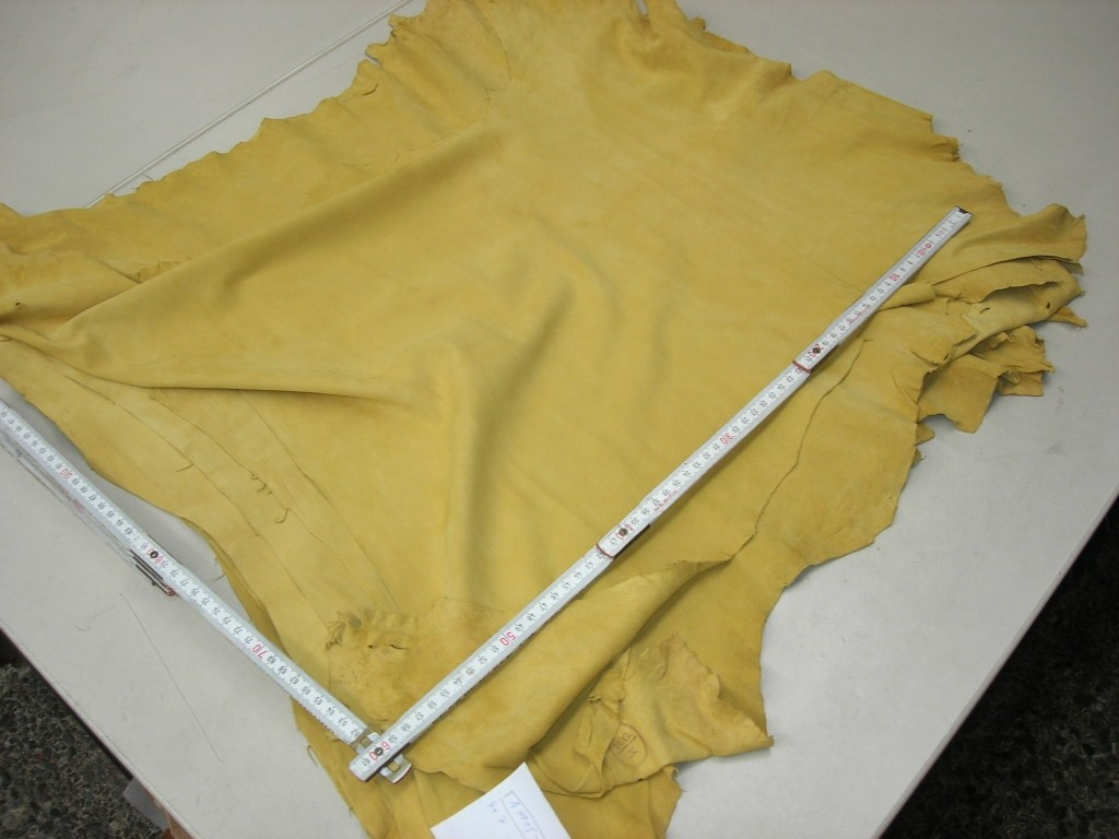 Ziegenvelour naturgelb 0,6mm weich (A19175ZV2)