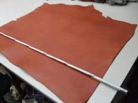 Vegetabiler Rinderhals (E) cognac (E185350C) 3mm