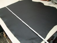 Vegetabiler Rinderhals(E) schwarz (E185350S) 3mm