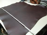 Vegetabiler Rinderhals(E) dunkelbraun (E185350B) 3mm