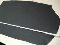 Wasserbüffelcroupon, schwarz 3,5 mm (V184650S)