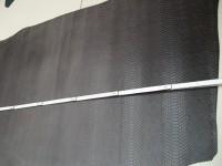 Wasserbüffelcroupon, Schlangenprägung grau E1853SG