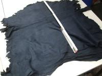 Ziegenvelour dunkelblau 0,5 mm (A1515BL)