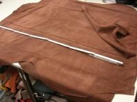 Rindspaltveour mittelbraun 0,7-0,8mm weich (O2013MB)
