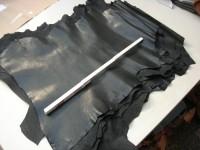 Ziegenleder schwarz 1,0 mm (T1917ZS)  Zur Zeit ausverkauft.