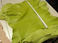 Ziegenleder grün 1,0-1,2 mm (O1913KZG)