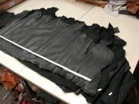 Kalbleder schwarz 1,4 mm (O1916KS)
