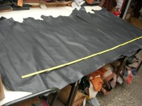 Rindleder schwarz 1,6 mm (T1917RBS)