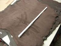 Ziegenvelour dunkelbraun 1,2 mm (O1913KVB)