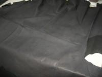 Wasserbüffel schwarz vollnarbig rustikal 1,4 mm (E1816WB)