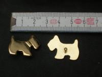 Zierteil goldener Hund (SS1310KGH)