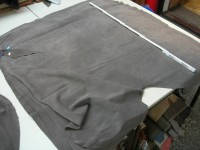 Kalbspaltvelour beige grau (O1813SPGB) 1,0 mm