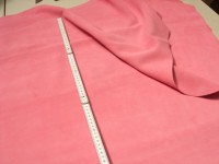 Rindspaltvelour rosa (O1013SPR1) 1,5 mm