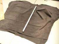 Kalbspaltvelour braun grau (C181250KSPB) 1,2 mm.