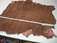 Schweinsvelour mittelbraun (M1210KSVB)