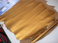Ziegennappa altgold-metallic (O1717ZGM)