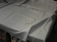 Möbelleder grau - beige 1,2 mm gedeckt (E191150KB22)