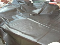 Möbelleder dunkelbraun 0,9mm fest gedeckt (E191150KDB24)