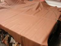 Möbelleder hellbraun 1,4mm weiche gedeckt (E191150KHB27)  Zur Zeit leider ausverkauft.
