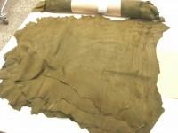 Ziegenvelour oliv (A1915ZO)