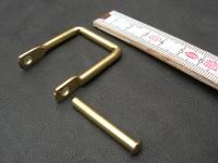 Griffhalter Nietring messing 25mm (GO6102)