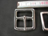 Doppelschnalle 3,0 cm Edelstahl (1120SS1 1/8)