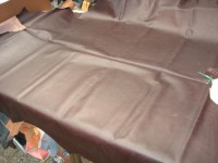 Wasserbüffel dunkelbraun gewachst 1,4mm (E2015WB10)