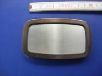 Koppelschnalle 4,0 cm satiniert-schwarznickel (E19K75)